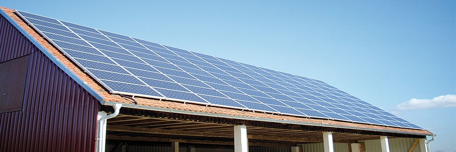 roof, roof integrated, solar parks